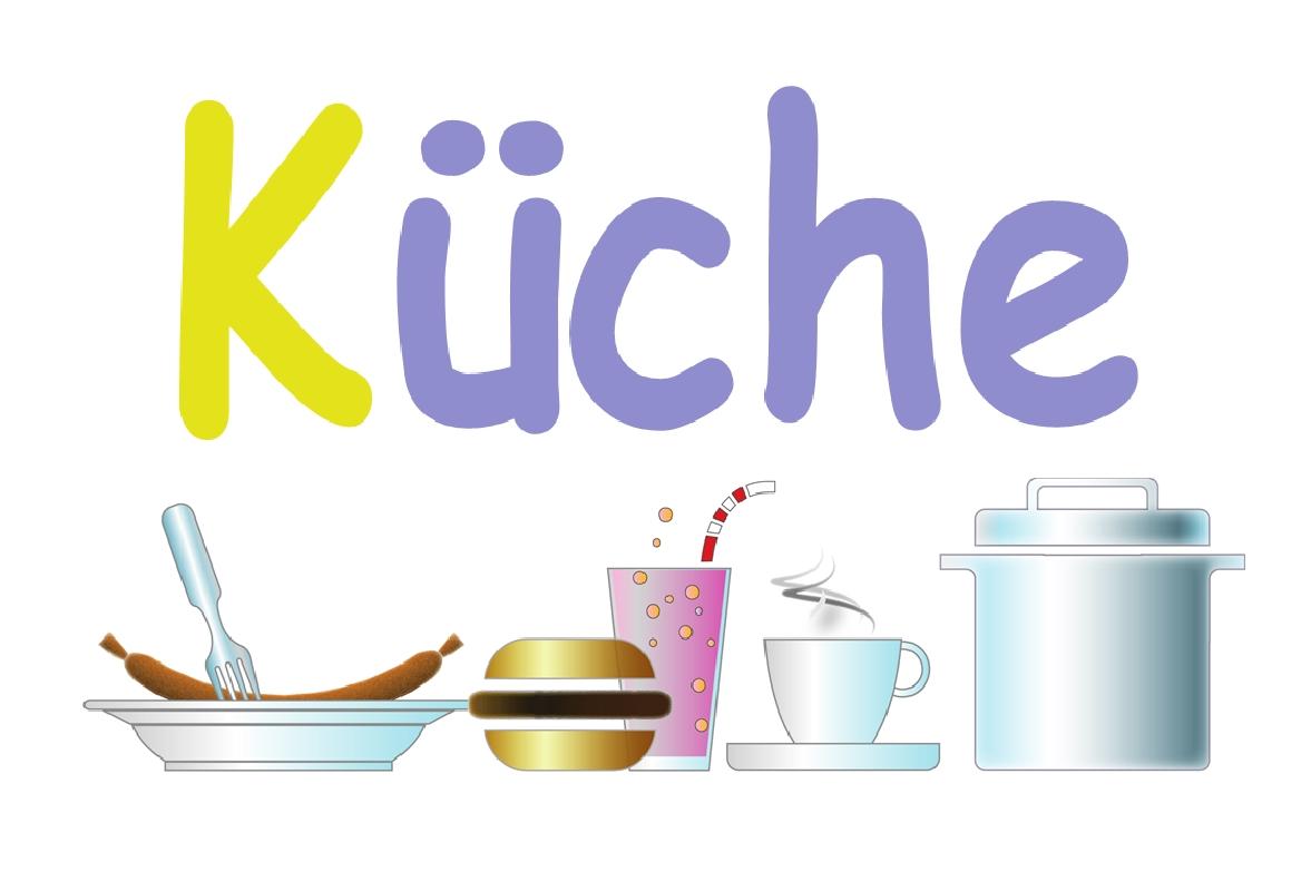 SCHILDER HIMMEL Küche Schild